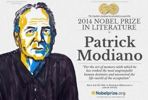 Патрик Модиано, Нобелевская премия 2014 по литературе, библиотека им. Рудомино