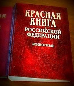 Красная книга РФ, охрана природы