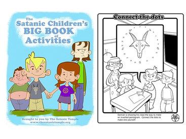 Во Флориде детям раздали книги о сатанизме