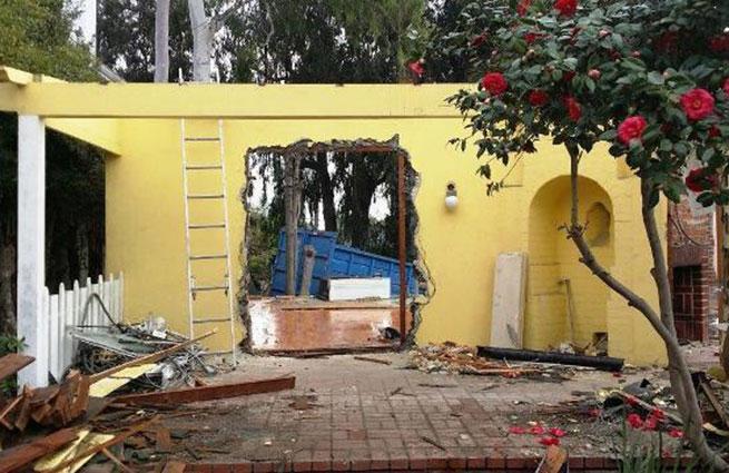 Дом Брэдбери в Лос-Анджелесе снесли