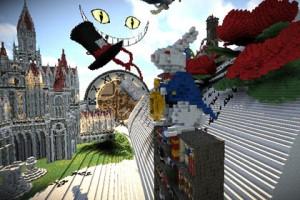 Алиса в Стране чудес, Льюис Кэрролл, Minecraft Алиса в Стране чудес