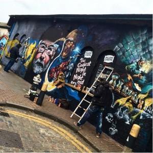Терри Пратчетт, граффити Пратчетт, Пратчетт и Смерть, Плоский мир