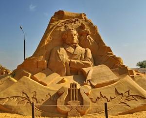 Год литературы 2015, выставка песчаных скульптур Коломенское, мероприятия литература Москва