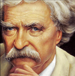 Марк Твен, Твен журналистика, письма в тайнике Марк Твен