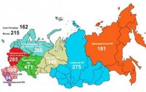 Литературная карта России, самый читающий регион