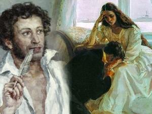 Александр Пушкин, Евгений Онегин, письмо Татьяны Онегину