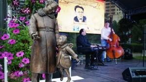 Самуил Маршак, памятник Маршаку в Воронеже