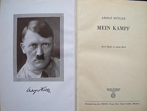 Адольф Гитлер, Main Kampf, новости литературы