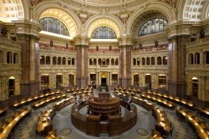 Главный читальный зал Библиотеки Конгресса