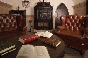 В «Книжной капелле» можно ощутить подлинную роскошь общения с книгой