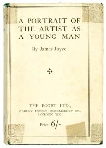Первое издание романа «A Portrait of the Artist as a Young Man» 1917 года