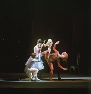 Сцена из балета «Щелкунчик»