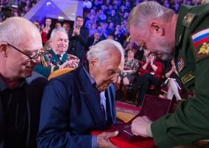 Вручение премии Минобороны РФ Даниилу Гранину