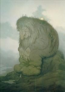 Тролль,задумавшийся над тем,сколько ему лет (1911)