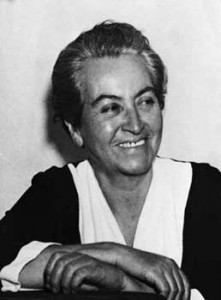 Габриэла Мистраль (1889 - 1957)