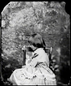 Алиса, фотография Люиса Кэрролла, лето 1858 года