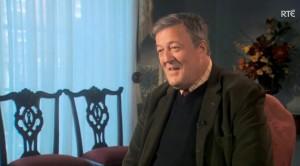Стивен Фрай в шоу RTÉ «Смысл жизни»