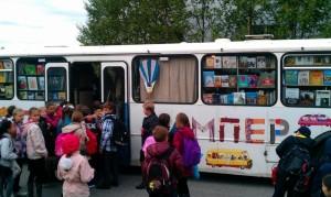 Детский книжный автобус «Бампер»3