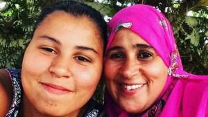 Нур Худа (слева) и ее мать Фузия аль-Вахаб