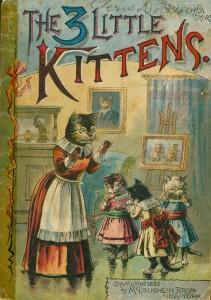 The three little kittens Издание 1890 года