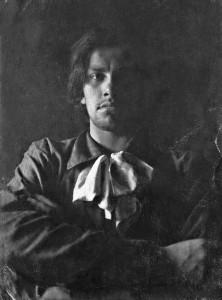 Владимир Маяковский в 1912 году