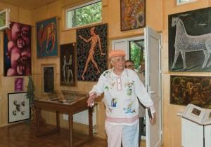 Музей-галерея Евтушенко в Переделкине