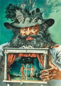 Габриэль Гарсиа Маркес «СТО ЛЕТ ОДИНОЧЕСТВА». Иллюстрация Александра Кабанина