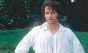 Колин Ферт в роли мистера Дарси в экранизации 1995 года