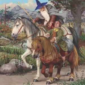 Гэндальф и Бильбо