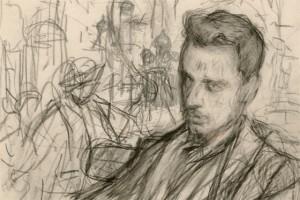 Эскиз к портрету Райнера Марии Рильке