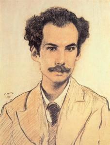 Рисунок Леона Бакста,1905 год
