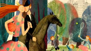 Наталья Корсунская. Иллюстрация из книги «Телефонные сказки Маринды и Миранды»
