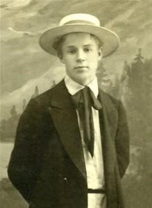 Сергей Есенин в юности