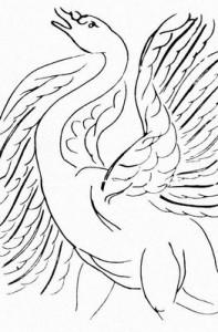 А. Матисс. Илл. к «Стихам» С. Малларме. Офорт. Лозанна. 1932