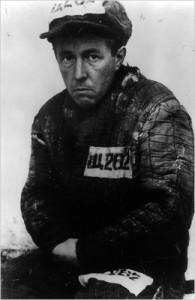 Солженицын в лагере