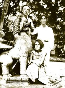 Поль и Гала в Индокитае. 1924 году