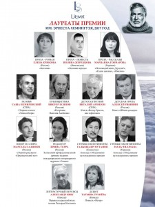 Лауреаты Международной литературной премии имени Эрнеста Хемингуэя