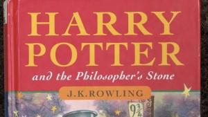 Первое издание Гарри Поттер и Философский камень