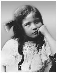 Симона в шесть лет. 1914 год