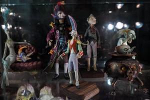 Персонажи мультипликационного фильма «Гофманиада» на киностудии «Союзмультфильм»
