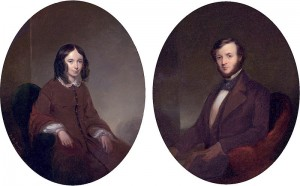 Элизабет и Роберт Браунинги