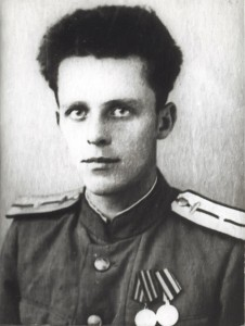 Борис Васильев в молодости