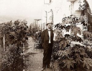 Белая дача. Чехов сам высаживал растения вокруг дома