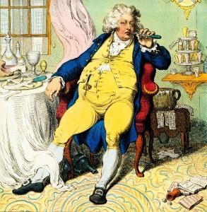 Принц-регент (позже коронованный Георгом IV)