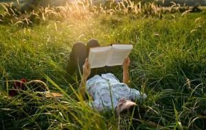 Чтение книг летом