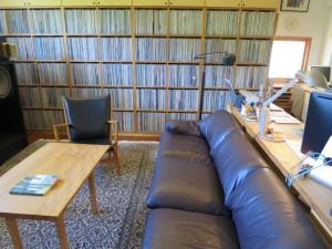 Коллекция долгоиграющих пластинок Мураками