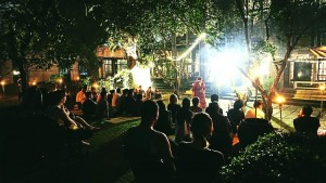 Открытый поэтический вечер Malam Sayu Berpuisi в KLPac, июнь 2018 года