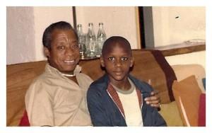 Джеймс Болдуин и его племянник, 1978 год