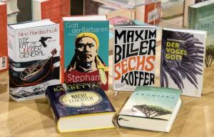 Shortlist für Deutschen Buchpreis 2018