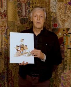 Paul McCartney announces his picture book2